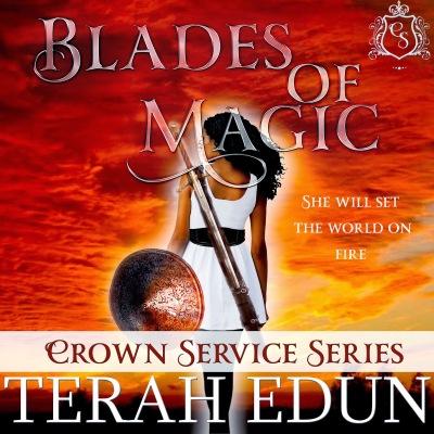 Blades Of Magic Audiobook Cover