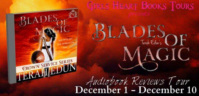 Blades of Magic Audiobook Banner