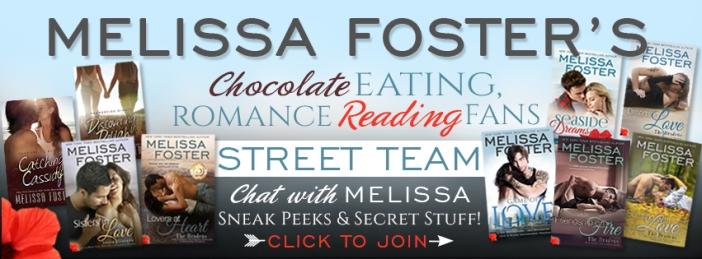 Melissa Street Team Banner