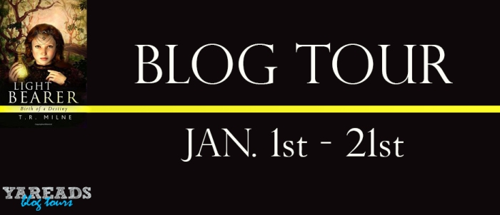Light Bearer blog tour banner