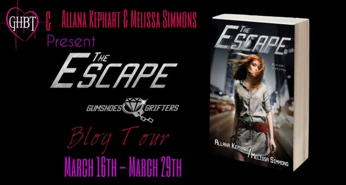 The Escape Blog Tour Banner